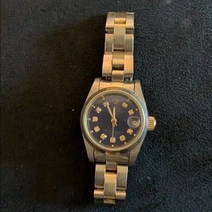 Female Rolex Oysters perpetual watch
